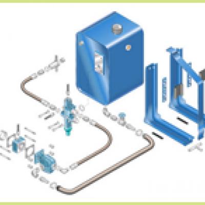 Kit hidraulic basculare